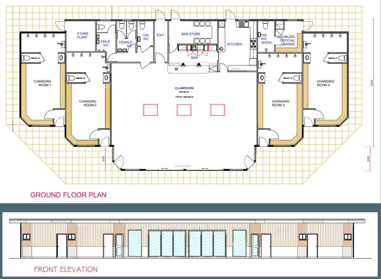 Pavilion proposed design July 2018